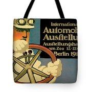 Internationale Automobile Ausftellung Tote Bag