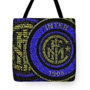 Internazionale Typography Poster Tote Bag