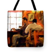 Internet Coffee House Tote Bag