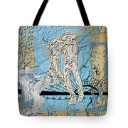Interstate 10- Exit 254- Prince Rd Overpass- Rectangle Remix Tote Bag