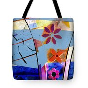 Interstate 10- Exit 256- Grant Rd Underpass- Rectangle Remix Tote Bag