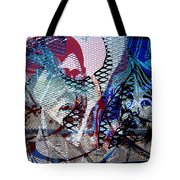 Interstate 10- Exit 261- 6th Ave Overpass- Rectangle Remix Tote Bag