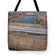 Interstate 75 Construction Ohio Aerial Tote Bag