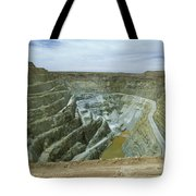 Inti Raymi Gold Mine Quarry In Oruro Tote Bag