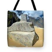 Inti Watana Stone Calendar At Machu Picchu Tote Bag