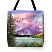 Intimacy With Christ Tote Bag