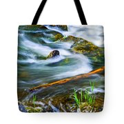 Intimate With River Tote Bag