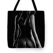 Into Darkness Tote Bag