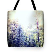 We Drifted Into Silence And Never Came Back  Tote Bag
