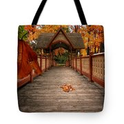 Into The Autumn Tote Bag