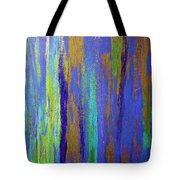 Into The Blue Abstract 2 Tote Bag