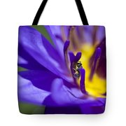 Into The Blue Tote Bag by Priya Ghose