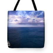Into The Blues Tote Bag