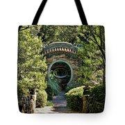 Into The Enchanted Garden Tote Bag