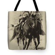 Into The Fray - Confederate Generals Tote Bag