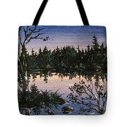 Into The Gloaming Tote Bag