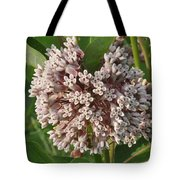 Into The Heart Of A Milkweed Flower Tote Bag