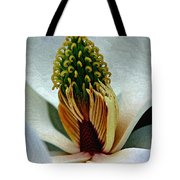Into The Heart Of The Magnolia Drybrush Tote Bag