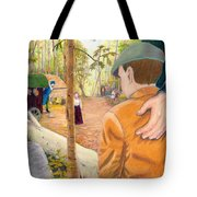 Into The Hidden Camp Tote Bag