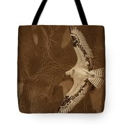 Into The Journey Tote Bag