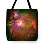 Into The Orion Nebula Tote Bag by Jennifer Rondinelli Reilly - Fine Art Photography