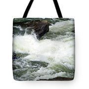 Into The Rapids Tote Bag