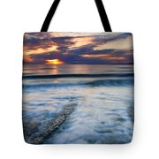 Into The Sea Tote Bag by Mike  Dawson
