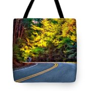 Into The Sunset Tote Bag