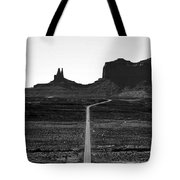 Into The Valley Of Monuments Tote Bag