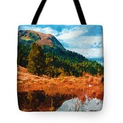 Into The Woods Tote Bag by Ayse Deniz