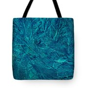 Intricate Blue Tote Bag