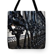 Intricate Georgetown Shapes And Shadows - Washington D C  Tote Bag