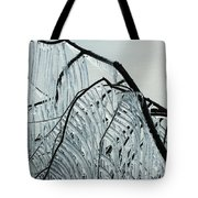 Intricate Ice Curtains Tote Bag