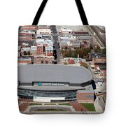 Intrust Bank Arena And Old Town Wichita Tote Bag