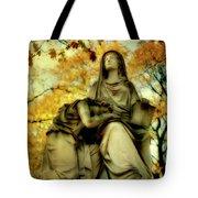 Invasion Of Autumn Tote Bag