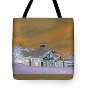 Invert Of The Apple Barn's Christmas Shop In Pigeon Forge Tennessee Tote Bag