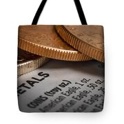 Investments Tote Bag