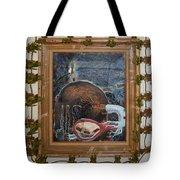 Invidious Tree In Opera Gloves - Framed Tote Bag