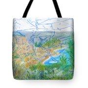 Invisible World Over Landscape Tote Bag