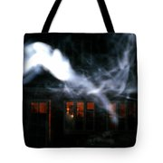 Invisibles Visiters From Beyond Flying In Over Night  Tote Bag