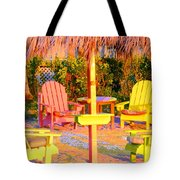 Invitation To Florida Sunset Tote Bag