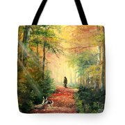 Invitation To Walk   Tote Bag