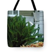 Inviting Front Porch Tote Bag by Bruce Gourley
