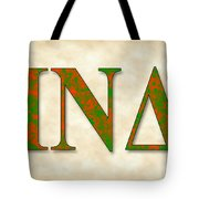 Iota Nu Delta - Parchment Tote Bag
