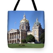 Iowa State Capitol Des Moines Tote Bag