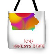 Iowa State Map Collection 2 Tote Bag