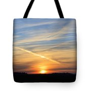 Iowa Sunrise Tote Bag