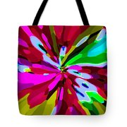 Iphone Cases Colorful Flowers Abstract Roses Gardenias Tiger Lily Florals Carole Spandau Cbs Art 179 Tote Bag by Carole Spandau