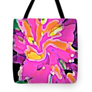 Iphone Cases Colorful Flowers Abstract Roses Gardenias Tiger Lily Florals Carole Spandau Cbs Art 183 Tote Bag by Carole Spandau