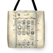 iPhone Patent - Vintage Tote Bag